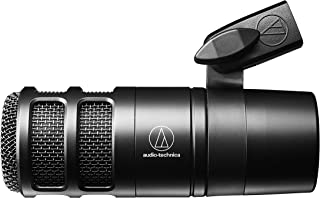 Audio-Technica AT2040 Hypercardioid Dynamic Podcast Microphone (at 2040)