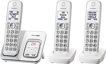 تلفن بی سیم پاناسونیک مدل KX-TGD533W - دارای سه عدد گوشی بی سیم و بلندگو با دخیره 150 شماره