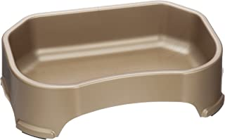 Neater Pet Brands Big Bowl - Extra Large Water Bowl for Dogs (1.25 Gallon Capacity) - Huge Over Size Pet Bowl - Champagne