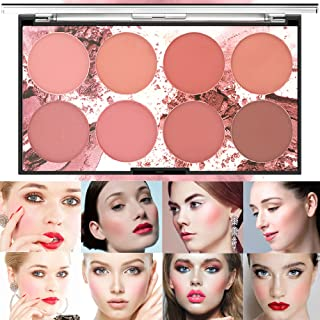 Wismee 8 Colors Blush Palette Matte Blusher Compact Powder Chek Cheap لوازم آرایشی آرایش آرایش صورت رژ گونه مات رژگونه مات طبیعی رژگونه رژگونه صورت زیبایی لوازم آرایشی رژگونه