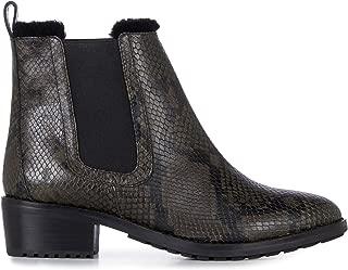 Ellin Snakeskin Womens Deluxe Wool Waterproof Boots