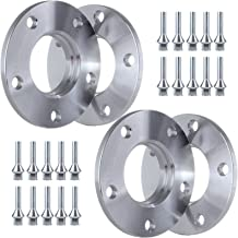 ECCPP 5x120mm to 5x120mm 5 Lug 10mm Wheel Spacers 5x120mm 72.56mm 12x1.5 Studs Fits for 318is Z8 Z4 M3 740i 545i 550i E60 E90 E92