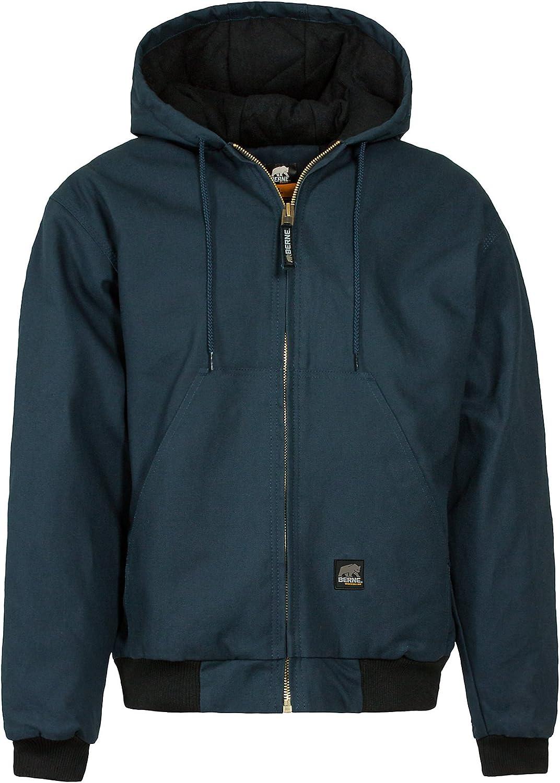 Berne Men's Heritage Hooded Regular discount Jacket San Francisco Mall