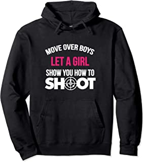 Shooting Hoodie for Girls and Women - Gift for Trap Shooter