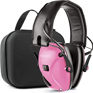 awesafe Ear Protection for Shooting Range,Electronic Hearing Protection for Impact..