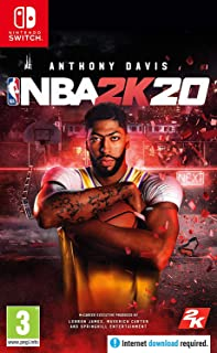 NBA 2K20 (CODE IN A BOX) (Nintendo Switch) (輸入版)