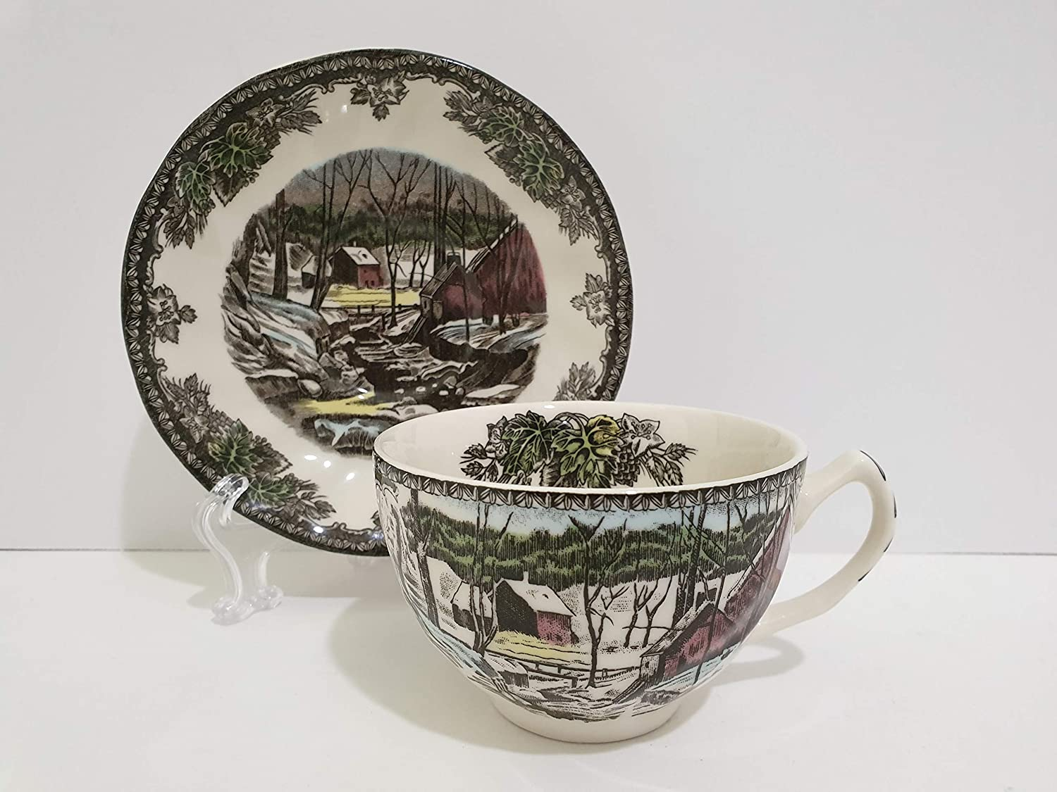 Johnson Brothers Max 71% OFF THE FRIENDLY Max 51% OFF VILLAGE 1883 S CupSaucer ENGLAND