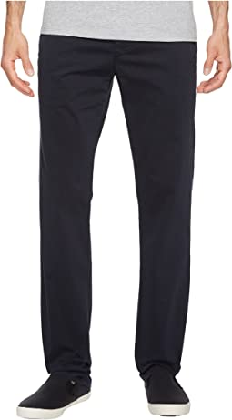 AG Adriano Goldschmied - Lux Khaki Tailored Trousers in New Navy