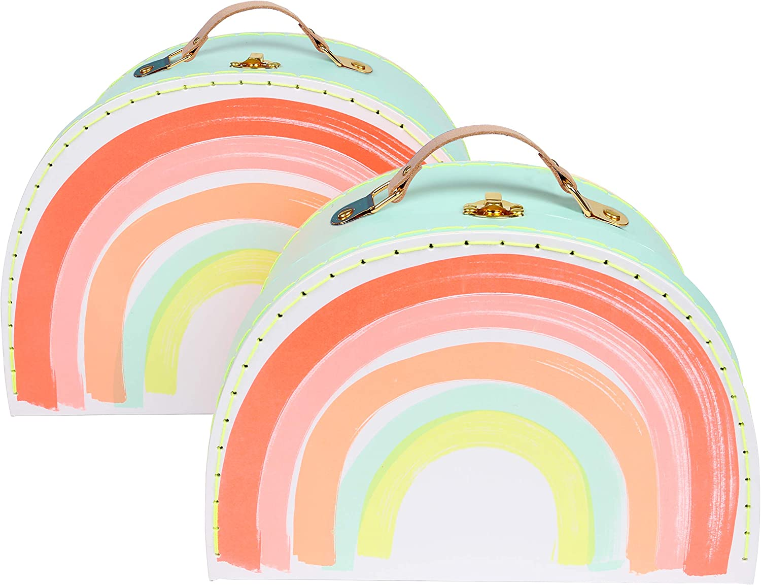 Meri Rainbow Suitcase - Set Cardboard Purchase Ranking TOP7 2 of with Laminated