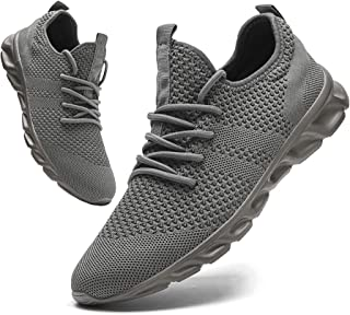 Mens Lightweight Athletic Running Walking Gym Shoes...