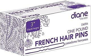 "Diane French Hair Pins, Black, 3"", 1 Lb"