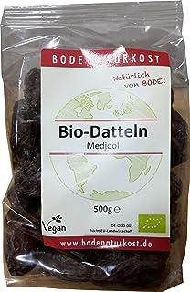 Bode datteln medjool 500g bio seco Frutas, 1er Pack (1x 500g)