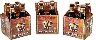 Sprecher Root Beer, Fire-Brewed Craft Soda, Glass Bottle, 16oz, 12 Pack