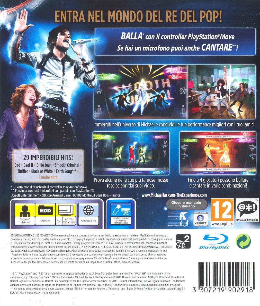 Michael Jackson The Experience [Importación italiana]: Amazon.es: Videojuegos