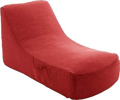 セルタン 日本製 カバーが洗える 圧縮 座椅子 ダリアンレッド 和楽のため息 収納ポケット付 A911a-563RED