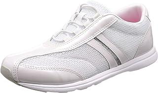 [ムーンスター] スニーカー 運動靴 室内運動対応 軽量 抗菌防臭 大人の運動靴02 レディース ホワイト 23.5 cm 2E