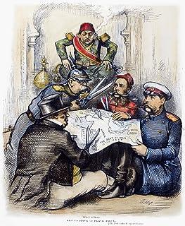 Russo-Turkish War 1877 NPeace Rumors American Cartoon By Thomas Nast 1877 Showing Britain Germany Austria-Hungary And Russ...