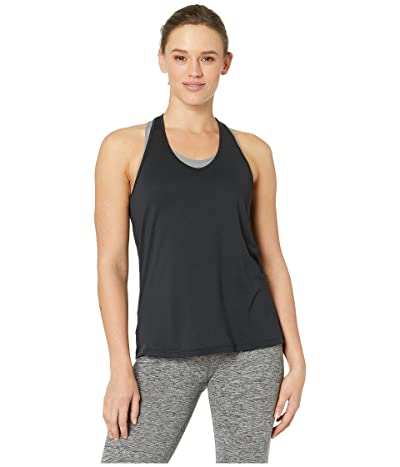 manduka Breeze Racerback Tank Top (Black) Women