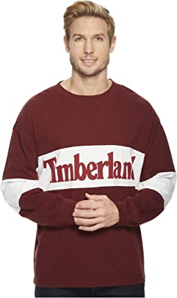 Timberland - Warner River Long Sleeve Retro Oversized Tee