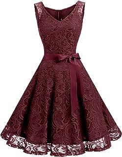 maroon floral bridesmaid dress