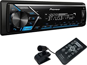 Pioneer MVH-S301BT Single DIN Digital Media Receiver with Improved ARC App Compatibility, MIXTRAX, Built-in Bluetooth