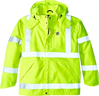Men's Big & Tall High Visibility Class 3 Waterproof Jacket