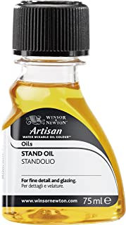 Winsor & Newton WIN3022842 Artisan Water Mixable Mediums Stand Oil, 75mL, Multicolor