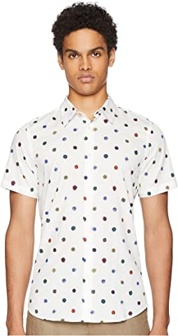 Short Sleeve Poka Dot Shirt