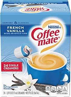 Coffee Mate Coffee Creamer Liquid Singles, French Vanilla