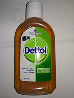 Dettol Antiseptic Liquid 250ml-Use to Kill Germs on The Skin, Help Protect Against Infection from cuts, Scratches and Insect Bites