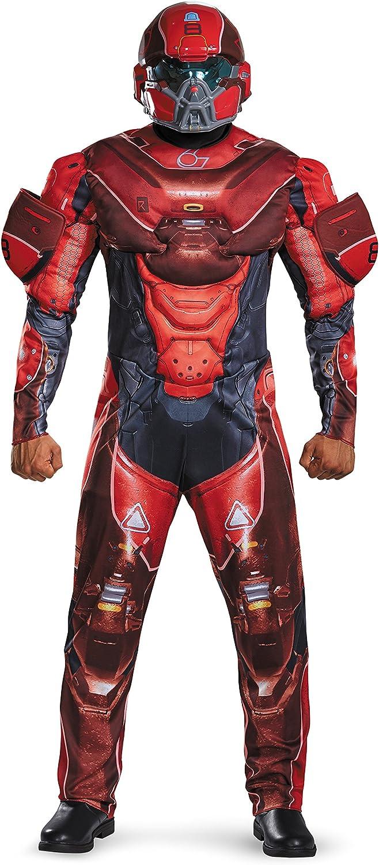 ¡no ser extrañado! Adult rojo Spartan Muscle Chest Fancy dress costume Medium Medium Medium  muy popular
