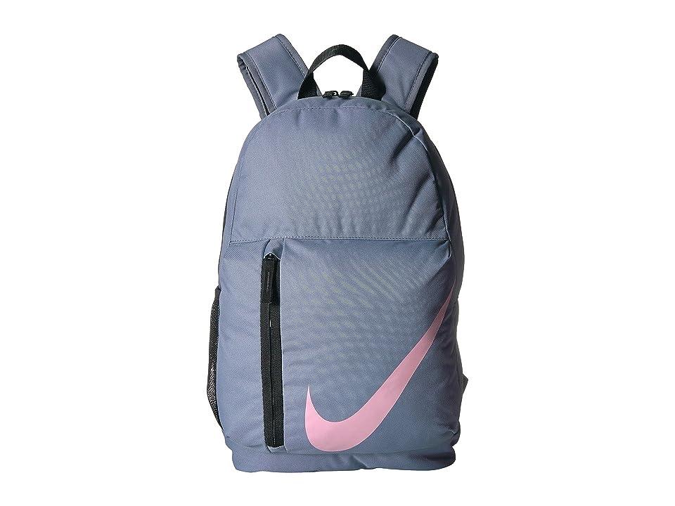 Nike Kids Elemental Backpack (Little Kids/Big Kids) (Ashen Slate/Black/Pink) Backpack Bags