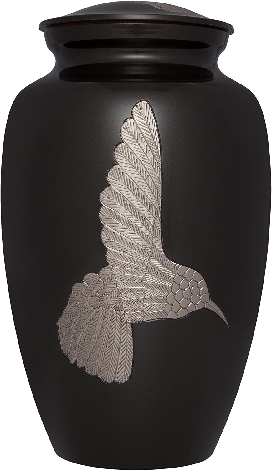 Charcoal Hummingbird Funeral Max 44% OFF Clearance SALE! Limited time! Urn by Crematio - Memorials Liliane