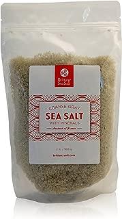 Brittany Sea Salt Coarse Gray Premium French Sea Salt 2 Lb Pouch