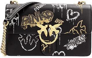 Pinko 1P21VS_Y6MU, Love Classic Icon Street Art CL Vit. Seta ST.Mix LAMIINE+BORC Donna
