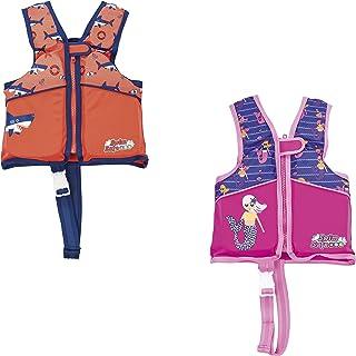 سترة تدريب امنة للسباحة مصنوعة من الفوم للاولاد/ البنات من بستواي، (مقاس متوسط/ كبير) 26-32159