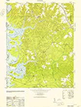 YellowMaps Norge VA topo map, 1:24000 Scale, 7.5 X 7.5 Minute, Historical, 1953, 28.7 x 21.9 in