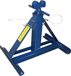 CURRENT TOOLS Reel Stand - Screw Type Reel Holder with Adjustment Pins & Wide Base - 660