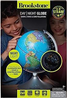 Brookstone Globe for Kids Interactive Light Up World and Constellation Globe