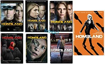 Homeland The Complete Series Seasons 1-7(DVD, 2018, 28-Disc Box Set)