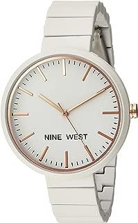 Nine West Women's NW/2012 Rubberized Bracelet Watch