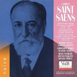 saint saens harp violin
