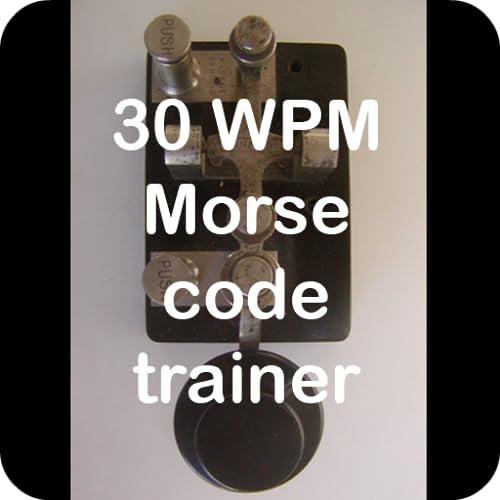 30 WPM amateur ham radio Koch CW Morse code trainer