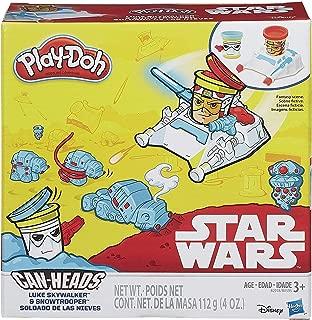 Play-Doh Star Wars Luke Skywalker and Snowtrooper Can-Heads