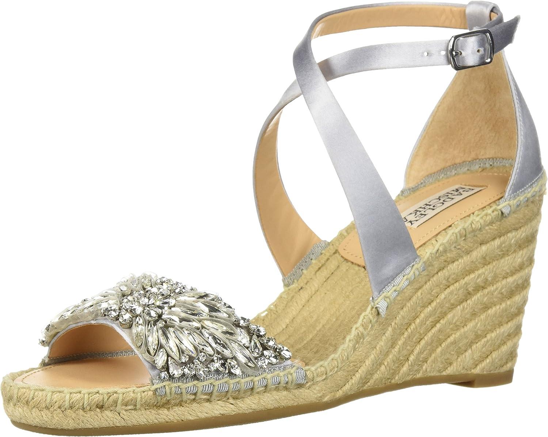 Badgley Mishka Mishka Mishka kvinnor Sbillette Esfarille Wedge Sandal  online outlet försäljning
