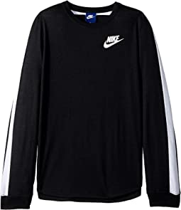 Nike Kids - Sportswear Long Sleeve Top (Little Kids/Big Kids)