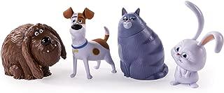 The Secret Life of Pets - Poseable Pet Figures 4-Pack