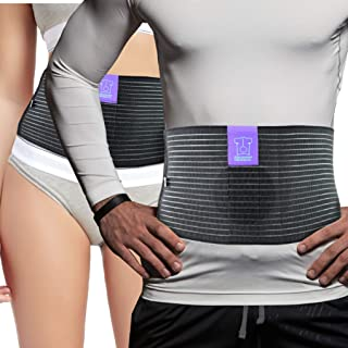 Umbilical Hernia Belt by Everyday Medical - Breathable Fabric Abdominal Binder For Hernia Support - Fast Relief For Epigastric, Navel and Ventral Hernias - Hernia Support Belt With Naval Pad - 3 Sizes