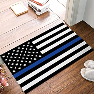 Best thin blue line area rug Reviews