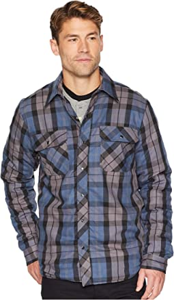 Insignia Blue/Charcoal Plaid